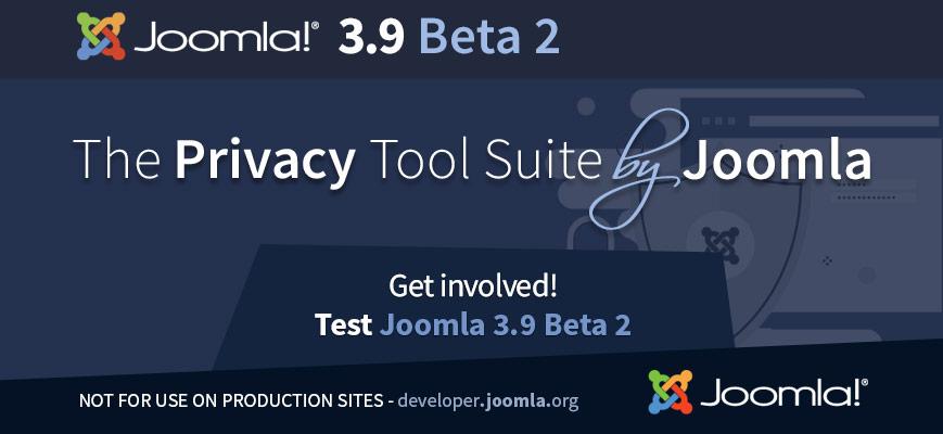 Joomla 3.9 Beta 2 rilasciato per il test