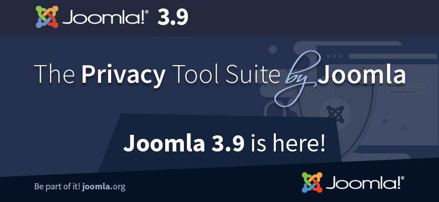 Joomla 3.9 è in diretta!